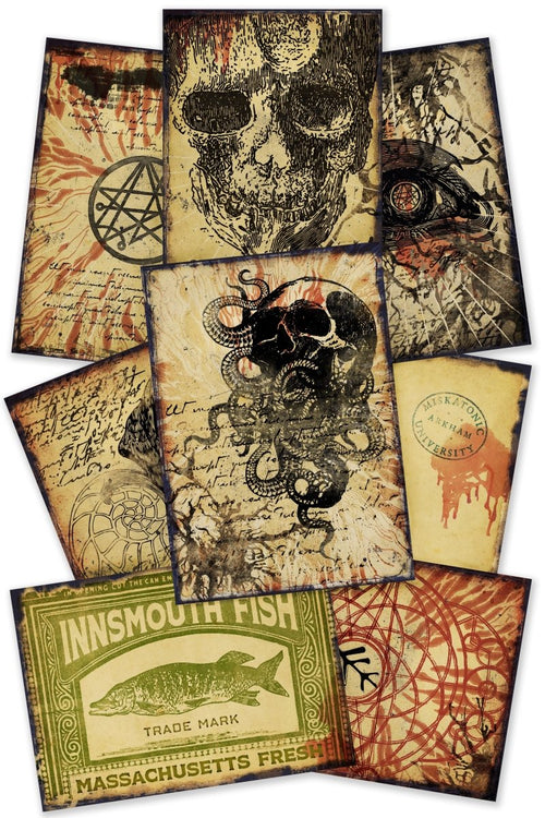 Cthulhu and Necronomicon - Printables Collection - GAMETEEUK