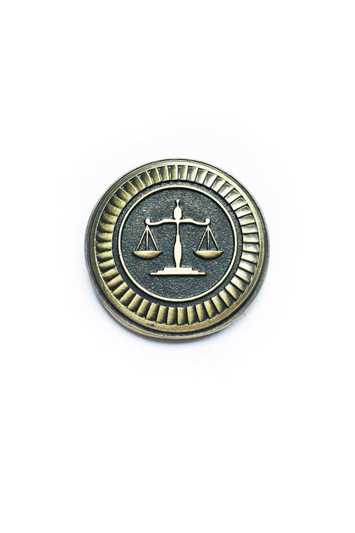 Attorney's Badge - Pin Badge