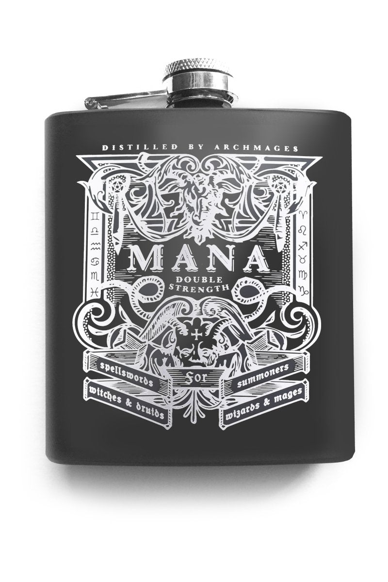 Dark Mana - Gaming Hipflask - GAMETEEUK