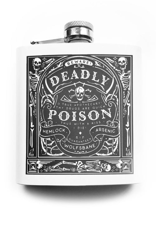 Deadly Poison - Hipflask - GAMETEEUK
