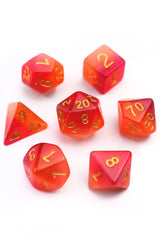 Demonology - Duotone Acrylic Dice Set - GAMETEEUK