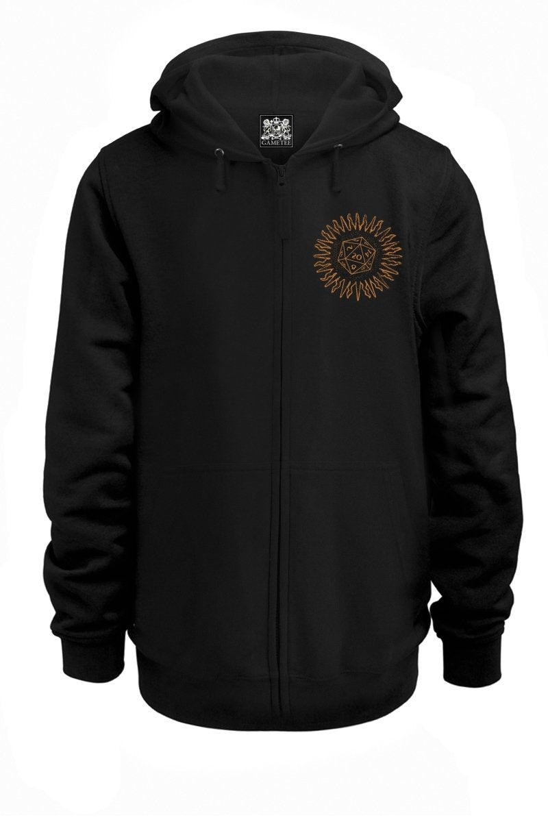 Destiny is in Thy Hands - D20 Hoodie - GAMETEEUK