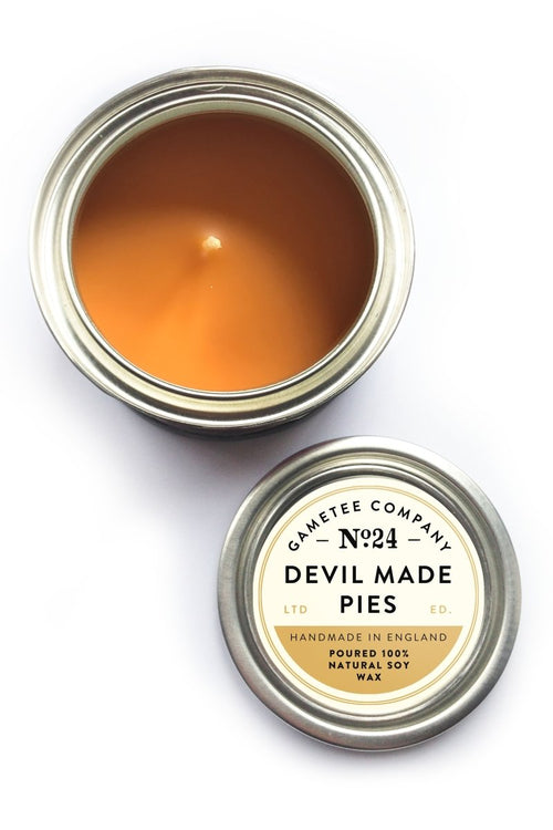 Devil Made Pies - Gaming Candle - GAMETEEUK