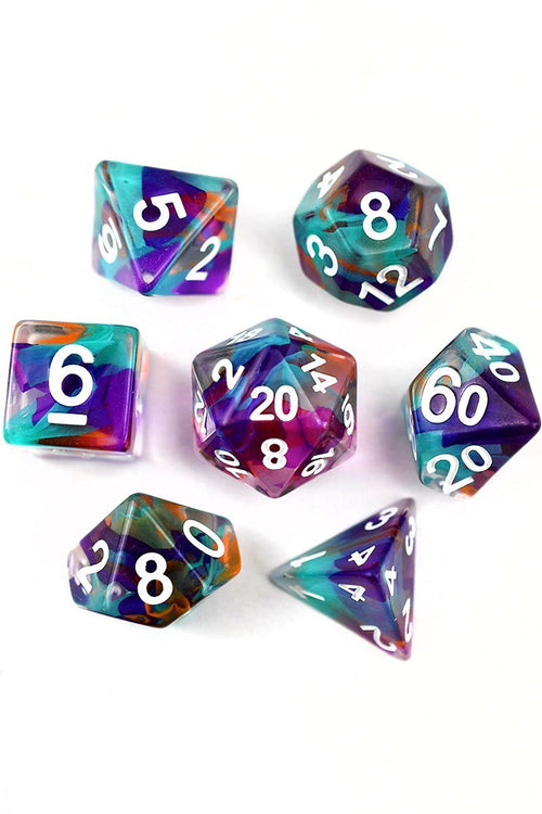 Dream Weaver - Ribbon Dice Set - GAMETEEUK