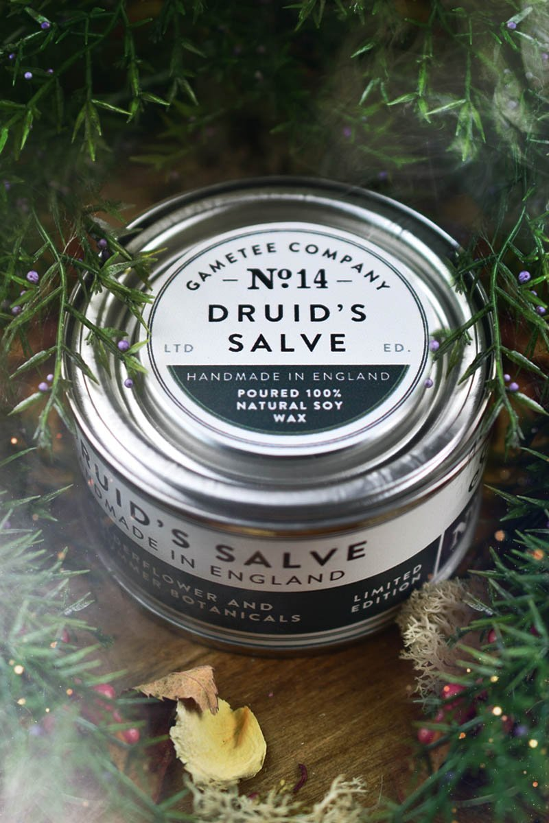 Druid's Salve - Gaming Candle - GAMETEEUK