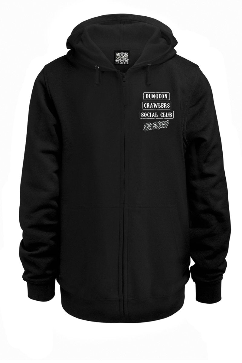 Dungeon Crawlers Social Club - Hoodie - GAMETEEUK