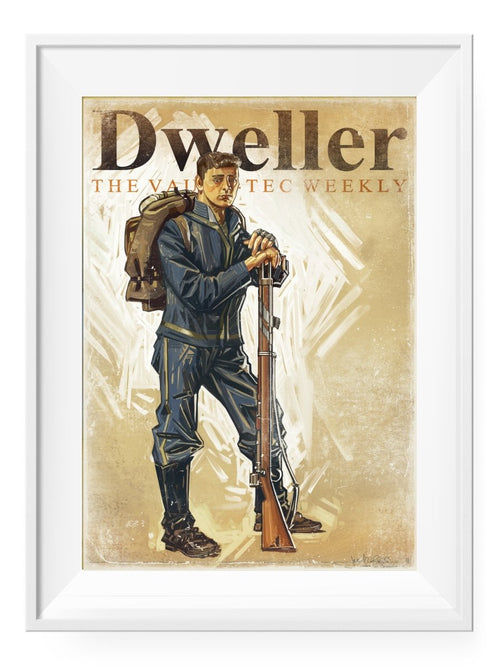 Dweller - Art Print - GAMETEEUK