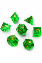 Earth Shard - Sharp-Edged Resin Dice Set - GAMETEEUK
