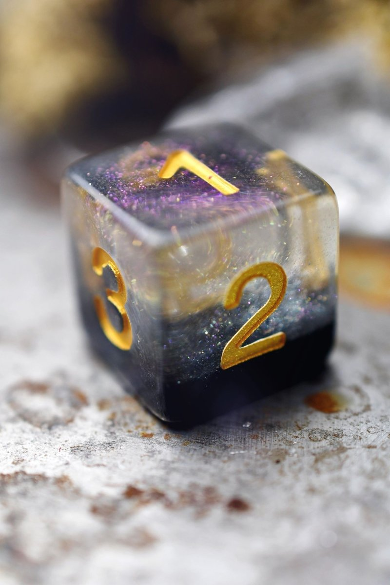 Eclipse - Layered Acrylic Dice Set - GAMETEEUK