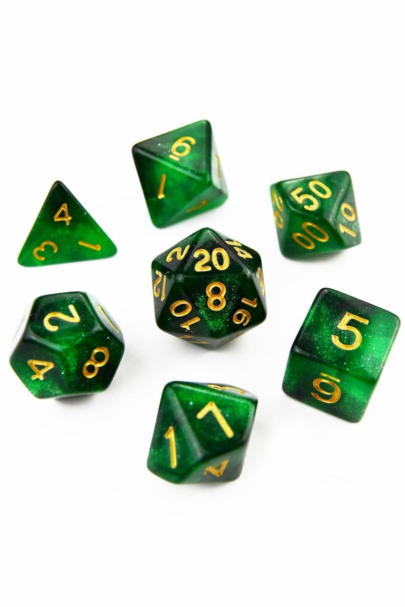 Elder God - Blood Drop Acrylic Dice Set - GAMETEEUK