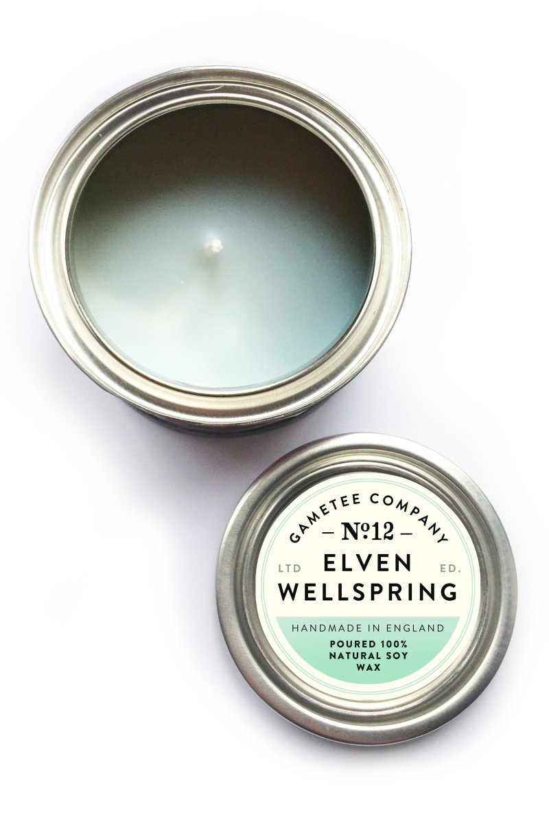 Elven Wellspring - Gaming Candle - GAMETEEUK