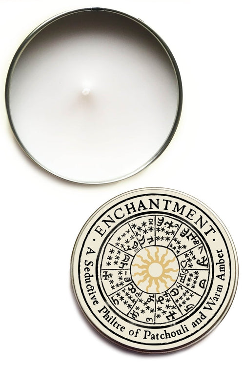 Enchantment - Large Tin Candle - GAMETEEUK