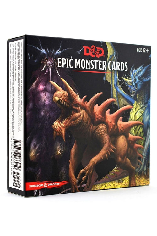 Epic Monster Cards D&D - GAMETEEUK