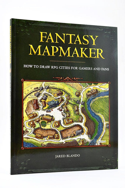 Fantasy Mapmaker - How to Draw RPG Cities for Gamers and Fans - GAMETEEUK
