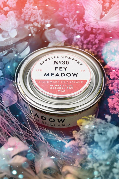 Fey Meadow - Gaming Candle - GAMETEEUK