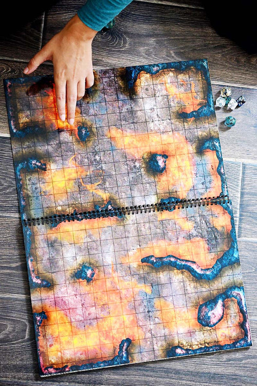 Giant Book of Battle Mats - A3 12inx16in - GAMETEEUK