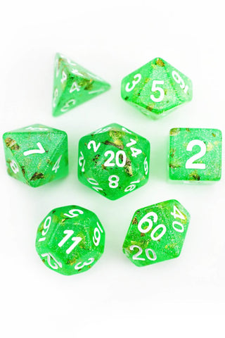 Rosethorn - Smoke-Silk Acrylic Dice Set
