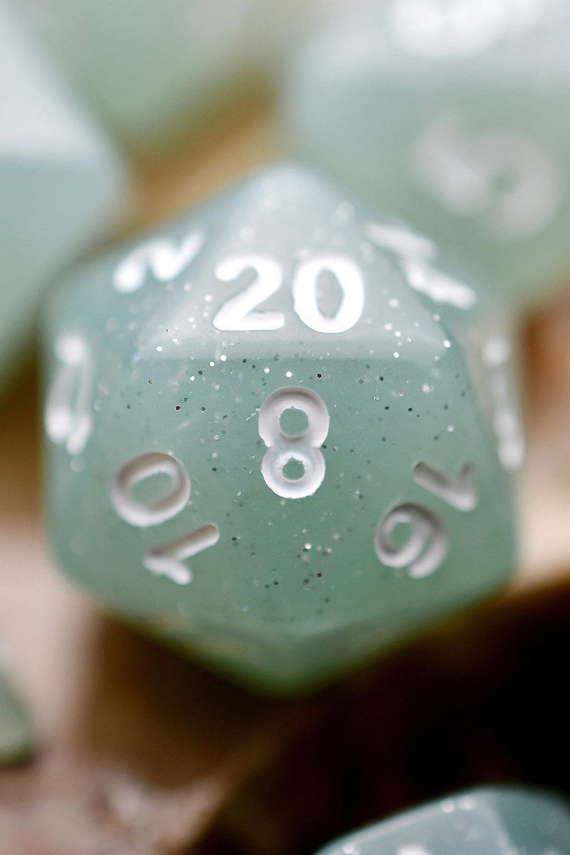 Grey Arcane - Acrylic Dice Set - GAMETEEUK