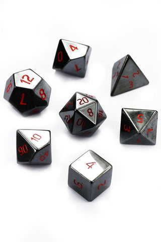 Distant Shores - Real Shells Acrylic Dice Set