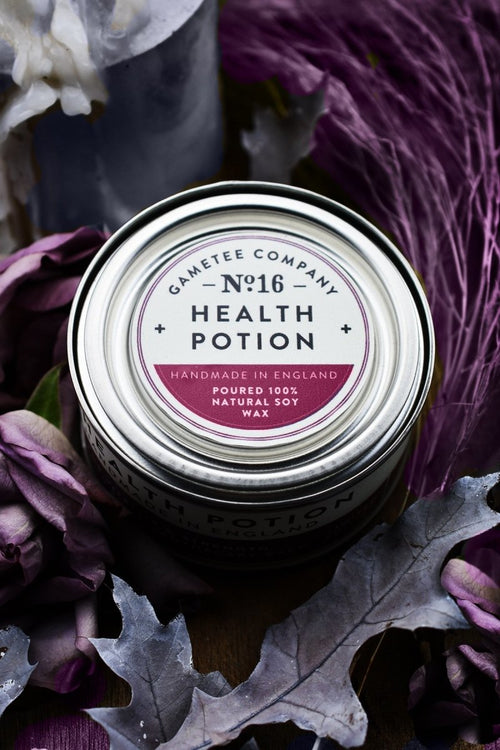 Health Potion - Gaming Candle - GAMETEEUK