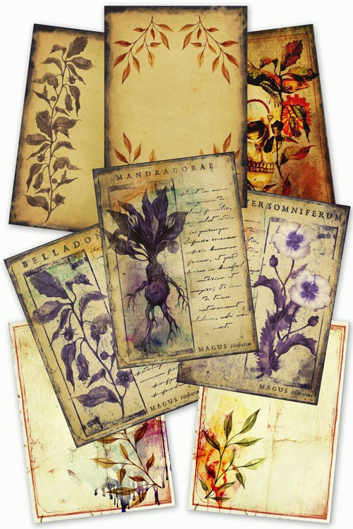 Herbalist - Printables Collection - GAMETEEUK