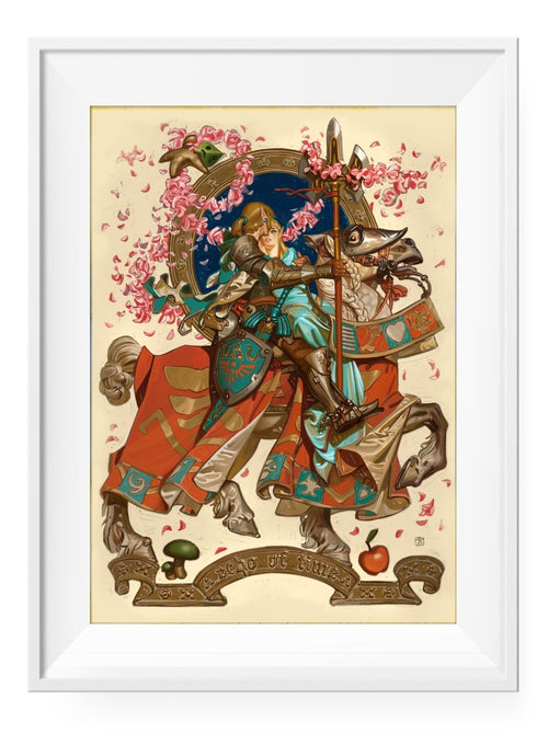 Hero's Return - Art Print - GAMETEEUK
