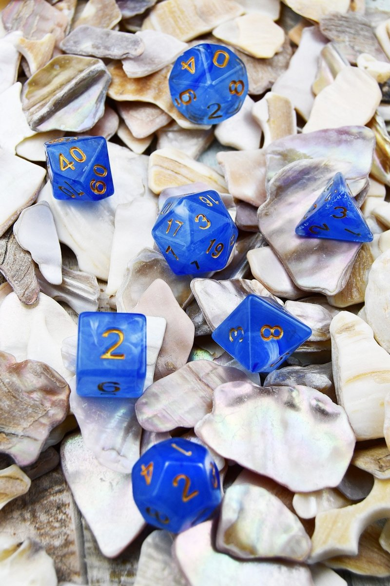 Horizon - Smoke-Silk Acrylic Dice Set - GAMETEEUK