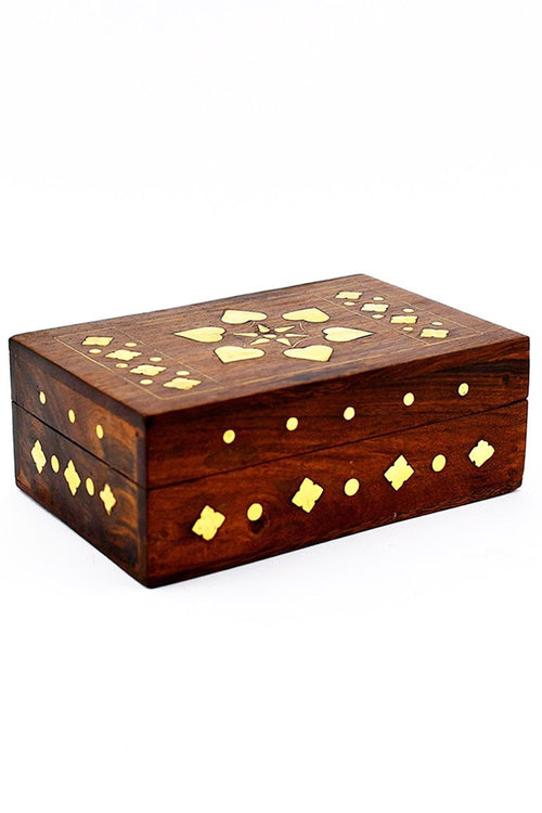 Hortus - Handmade Dice and Accessory Box - GAMETEEUK