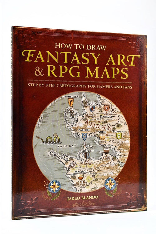 How to Draw Fantasy Art and RPG Maps: Step by Step Cartography for Gamers and Fans - GAMETEEUK
