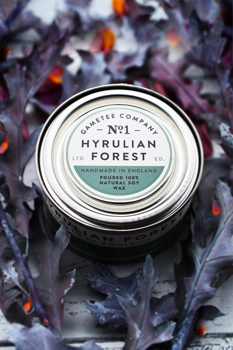 Hyrulian Forest - Gaming Candle - GAMETEEUK