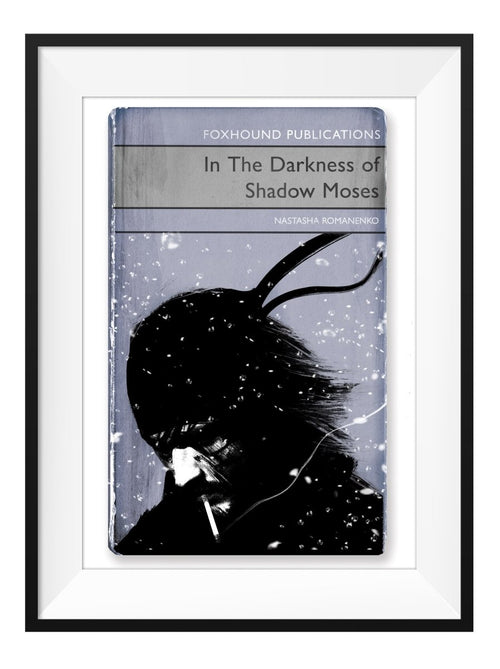 In the Darkness of Shadow Moses - Art Print - GAMETEEUK