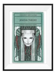 Jenova Theory - Art Print - GAMETEEUK