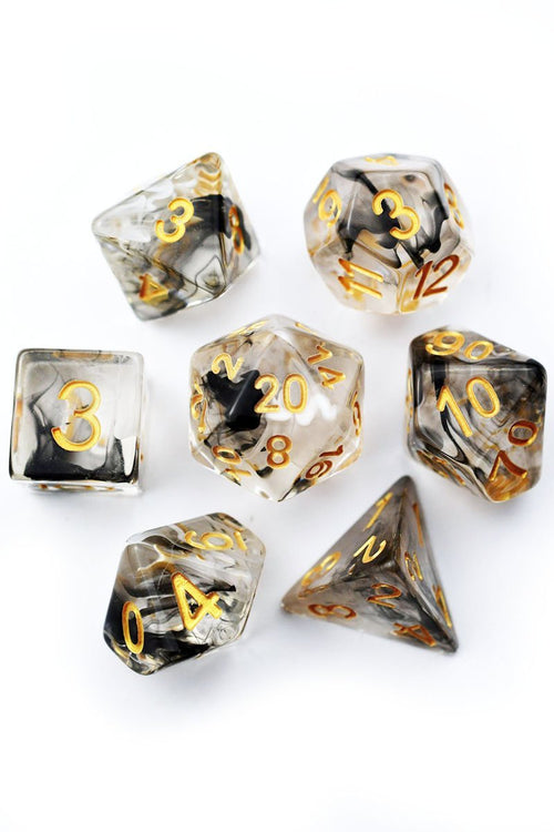 Kindred Spirits - Acrylic Dice Set - GAMETEEUK