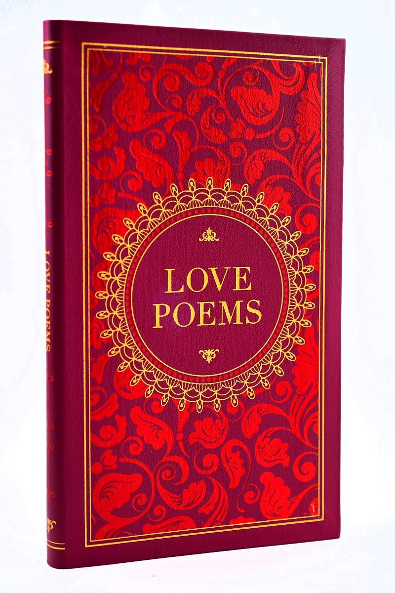 Love Poems - Leather Bound Gilded-Edge Hardcover - GAMETEEUK