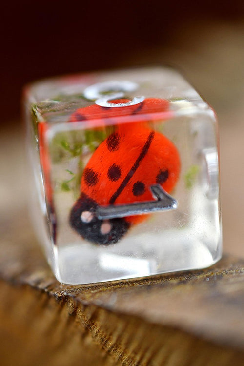 Luck be a Ladybird - Ladybird Dice Set - GAMETEEUK