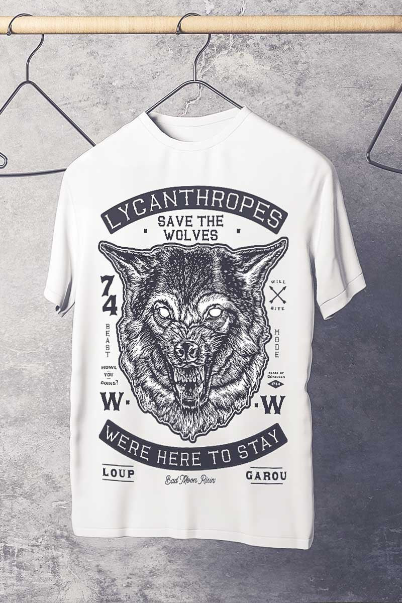 Lycanthropes - T-Shirt - GAMETEEUK