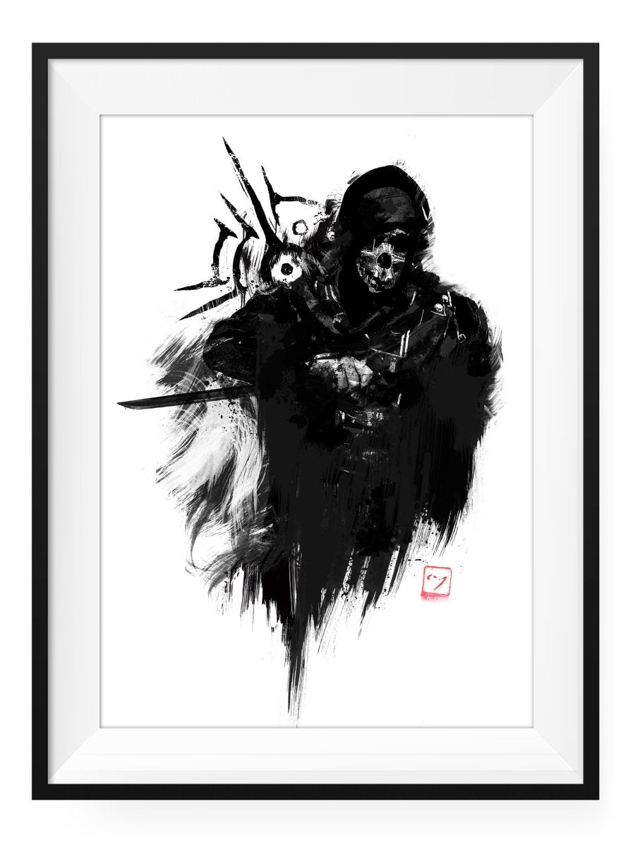 Marked - Art Print - GAMETEEUK