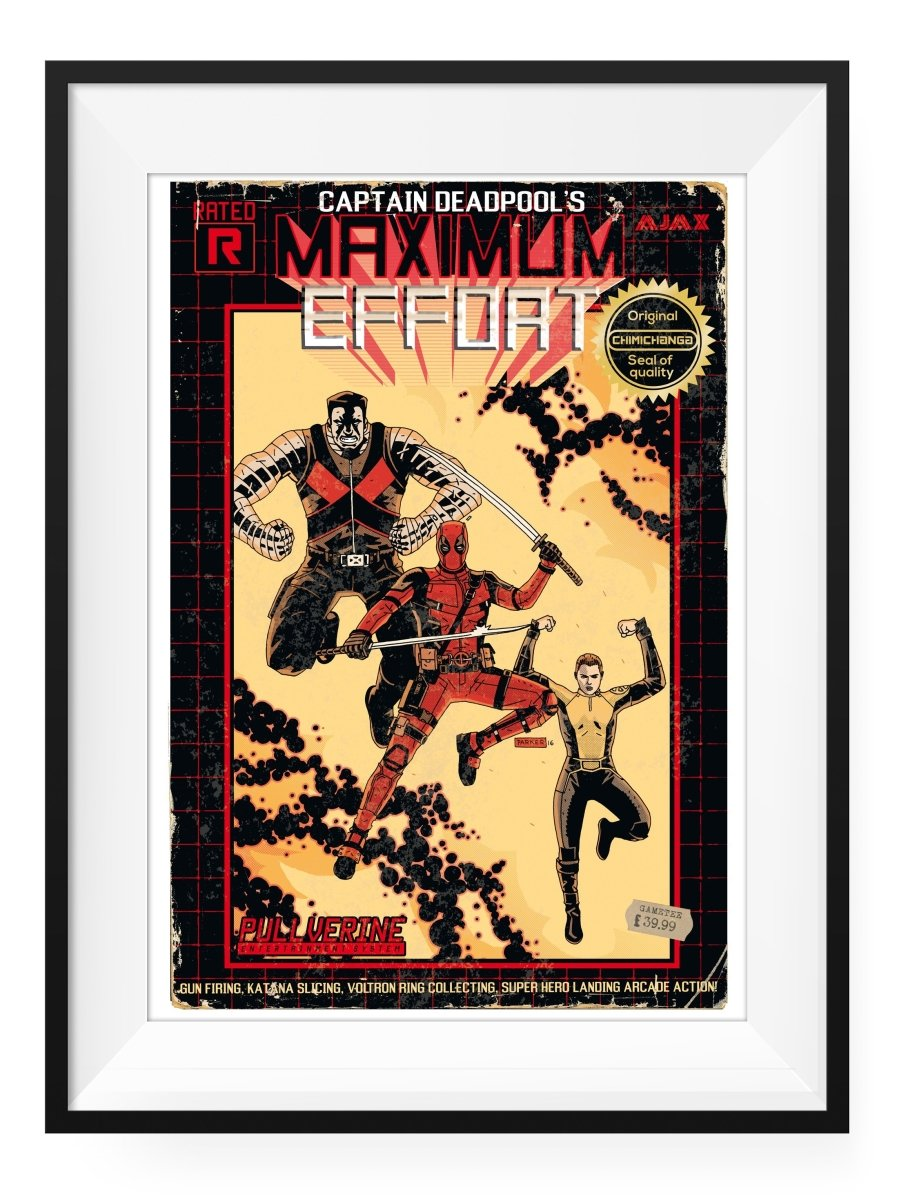 MAXIMUM EFFORT - Art Print - GAMETEEUK