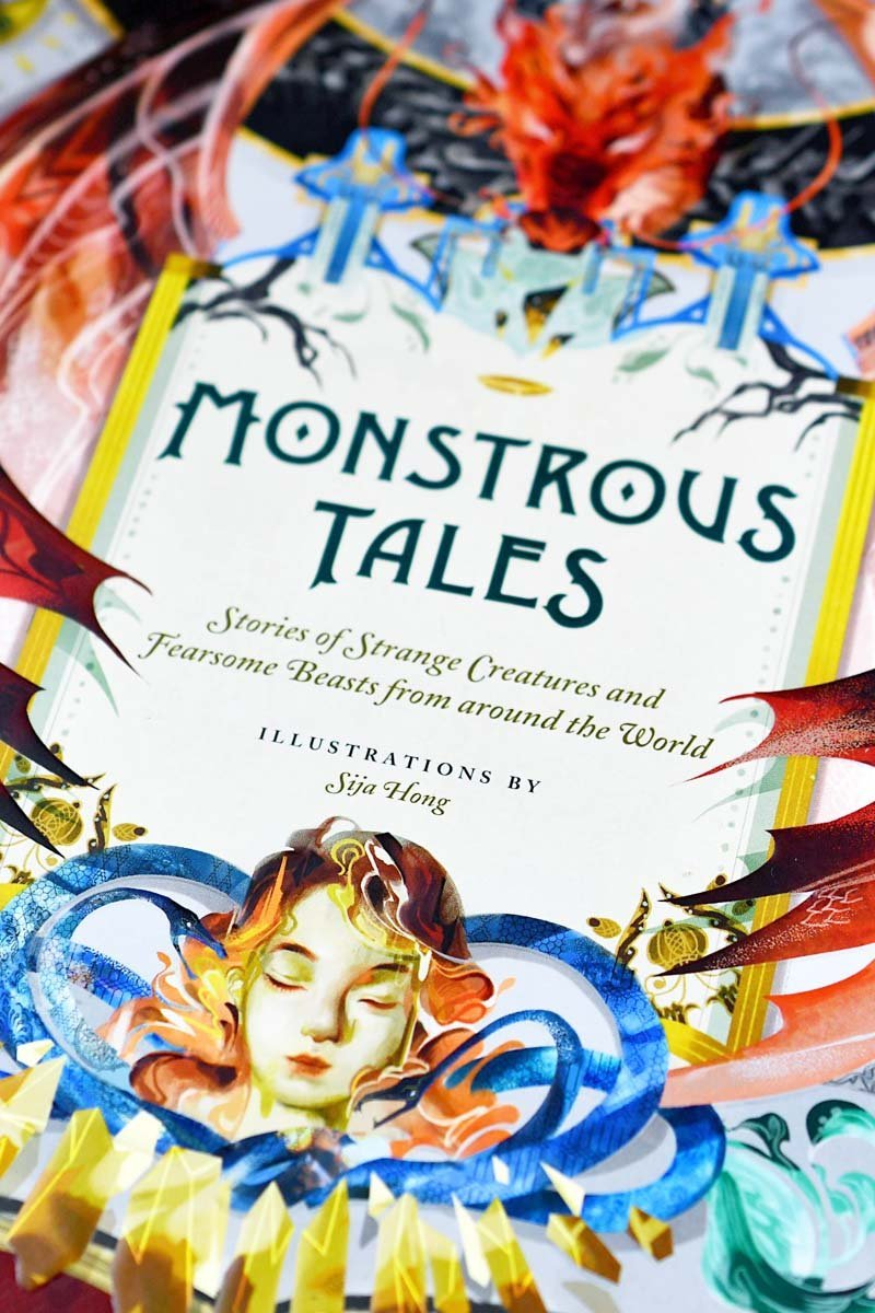 Monstrous Tales - Stories of Strange Creatures and Fearsome Beasts - GAMETEEUK