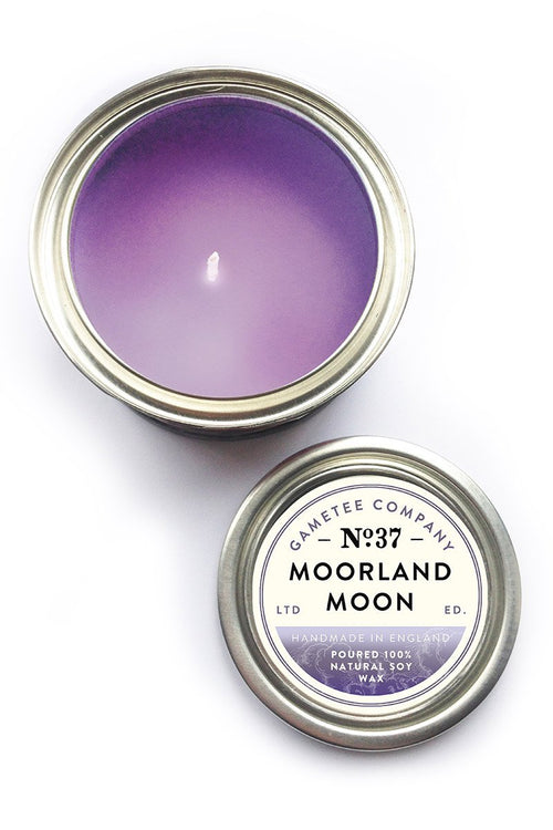 Moorland Moon - Gaming Candle - GAMETEEUK