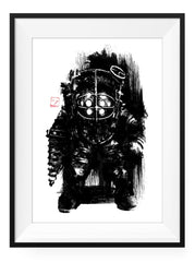 Mr. Bubbles - Art Print - GAMETEEUK