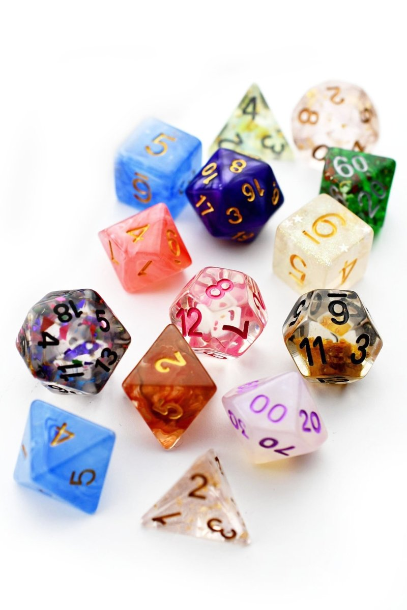 Mystery Bag - 7 Mixed Dice - GAMETEEUK