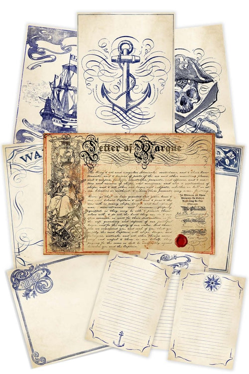 Nautical - Printables Collection - GAMETEEUK