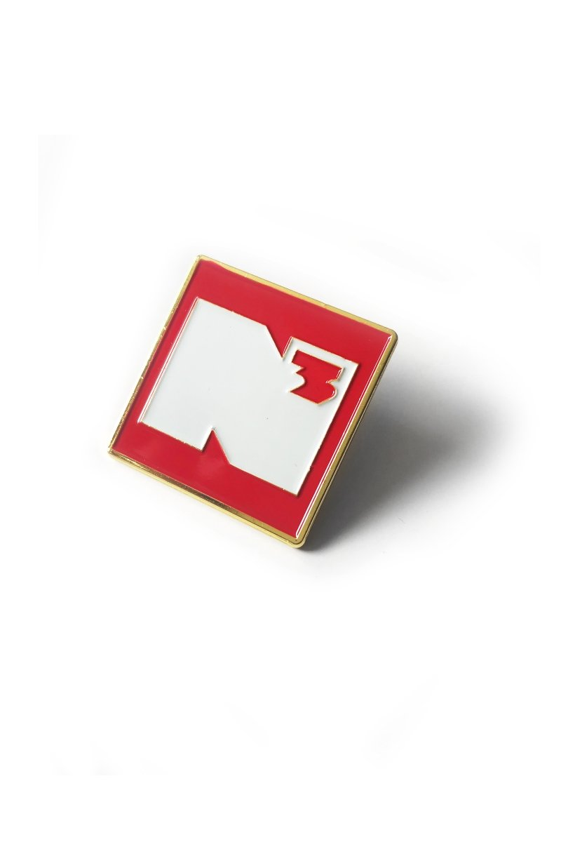 NerdCubed Badge - Pin Badge - GAMETEEUK