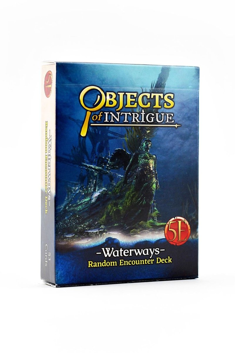 Objects of Intrigue: Waterways (for 5e) - GAMETEEUK