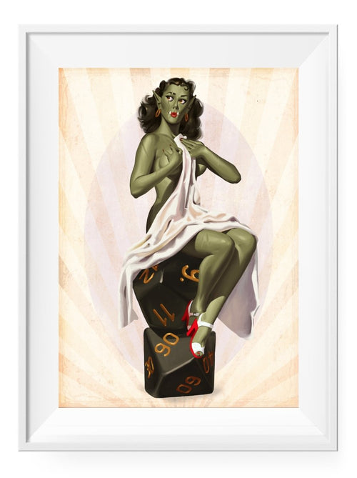 Orcish Delight - Art Print - GAMETEEUK