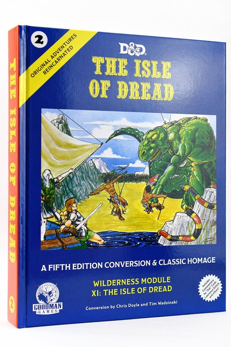 Original Adventures Reincarnated #2: The Isle of Dread (Hardcover) - GAMETEEUK