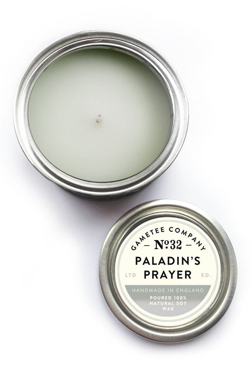 Paladin's Prayer - Gaming Candle - GAMETEEUK
