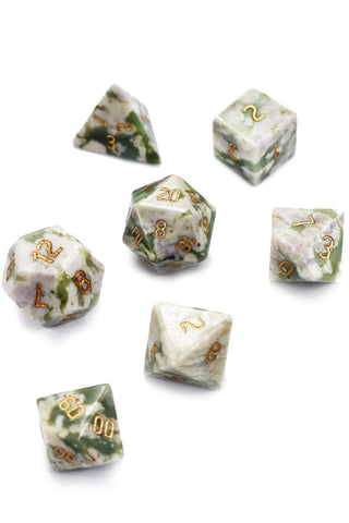 Unicorn - Opalescent Acrylic Dice Set