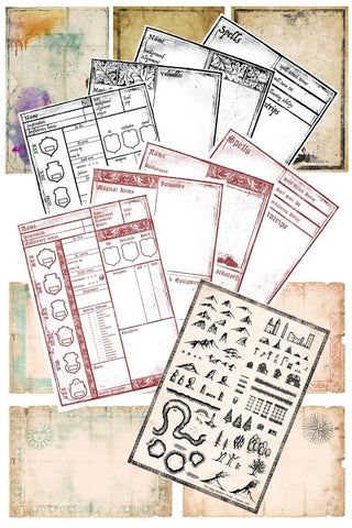 Grimoire - Printables Collection